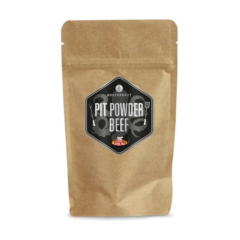 Ankerkraut Pit Powder Beef BBQ Rub Gewürzmischung in der Tüte Nachfüllpack 250 g