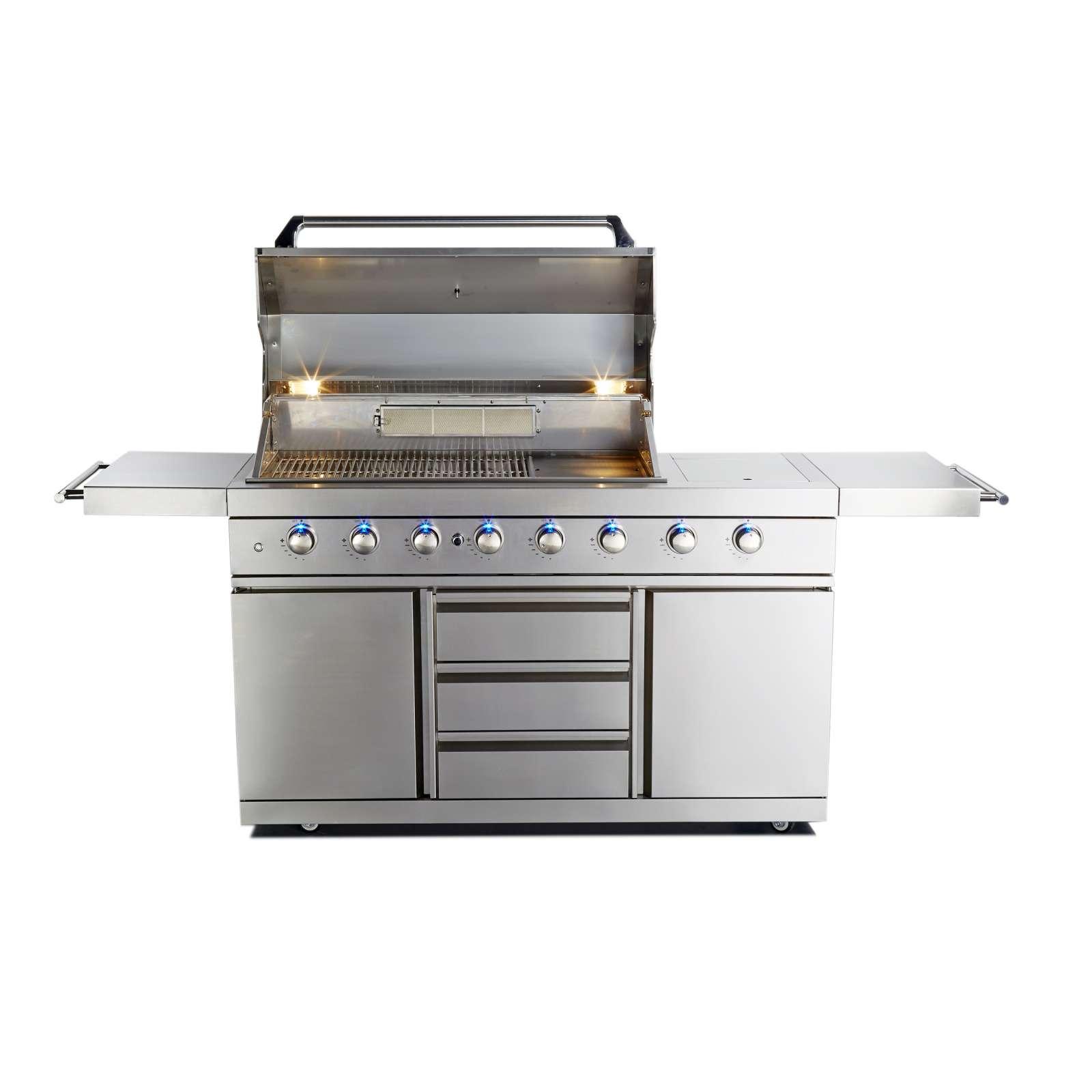 Allgrill Top-Line Ultra DeLuxe 304 Gasgrill Edelstahl Outdoor Küche