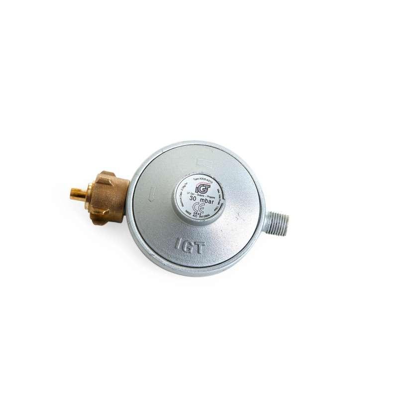 Paella World Gasdruckminderer 30 mbar ohne Sicherheitsventil 1/4'' Linksgewinde