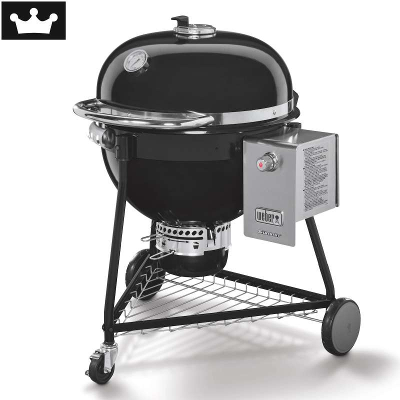 Weber Holzkohlegrill Summit Charcoal ø 61 cm Black