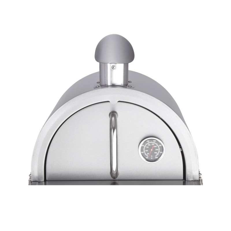 Allgrill Pizzaofen-Edelstahlhaube für MULTI-KULTI mit Kamin