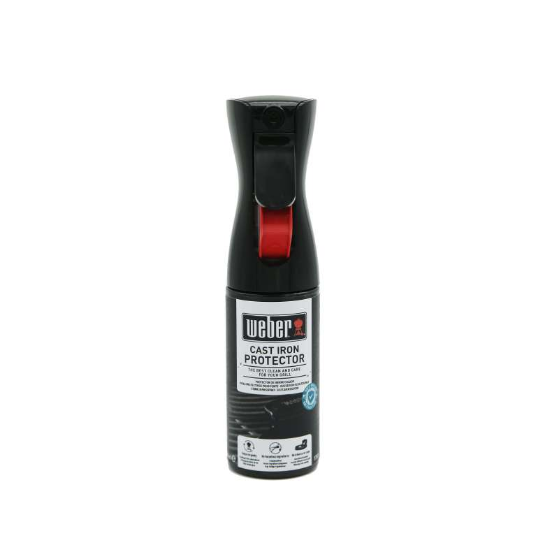 Weber Gusseisen - Schutzspray 200 ml für Grillroste und Zubehör aus Gusseisen