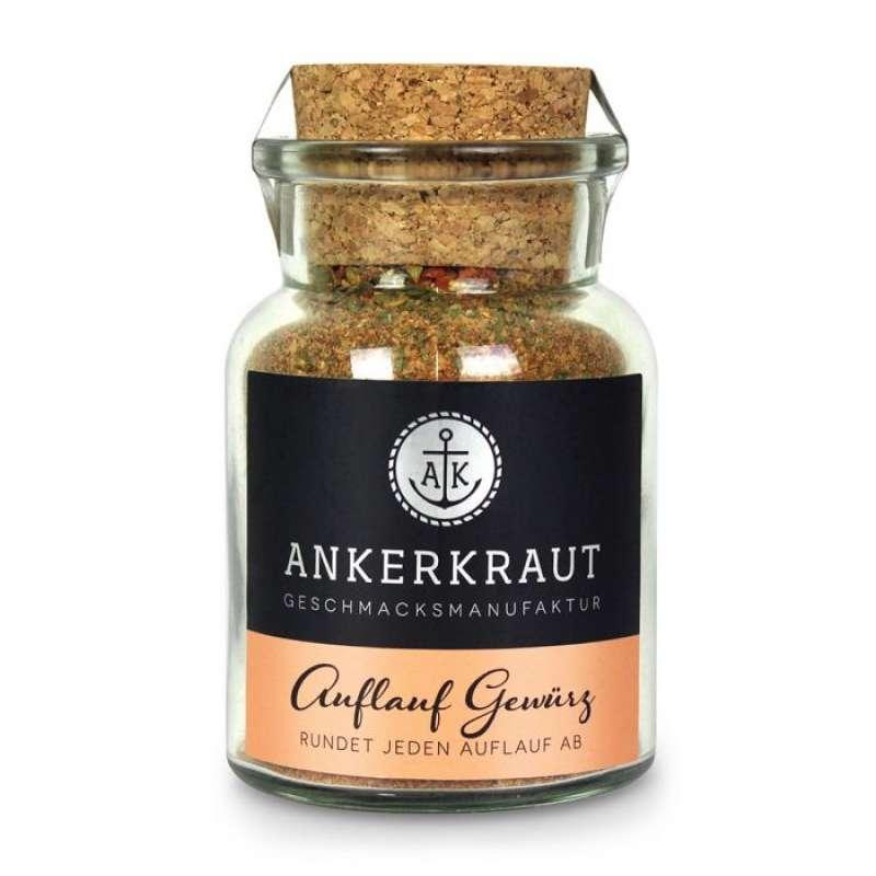 Ankerkraut Auflauf Gewürz Gewürzsalz für Nudeln oder Gemüse im Korkenglas 90 g