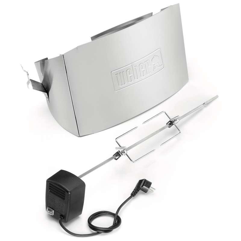 Weber Drehspiess für Q 300-/3000 Serie Gas und Elektro mit elektrischem Motor