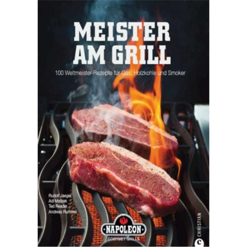 Napoleon Grillbuch Meister am Grill