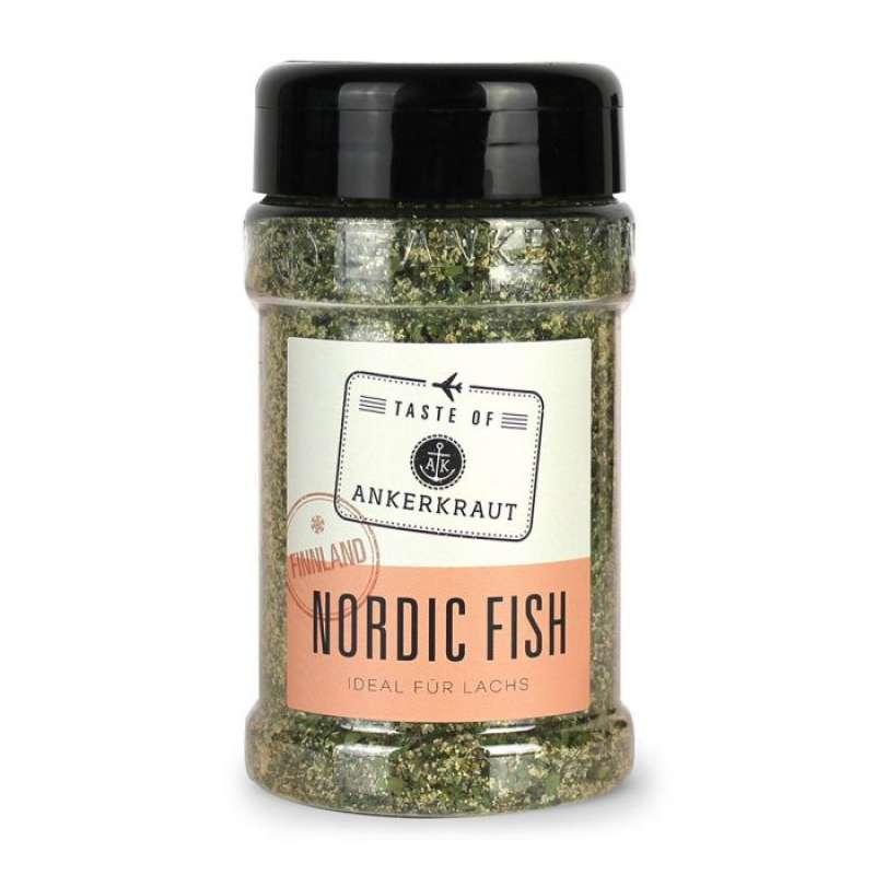 Ankerkraut Nordic Fish (Finnland) Gewürzzubereitung Gewürzmischung für Fisch im Streuer 230 g