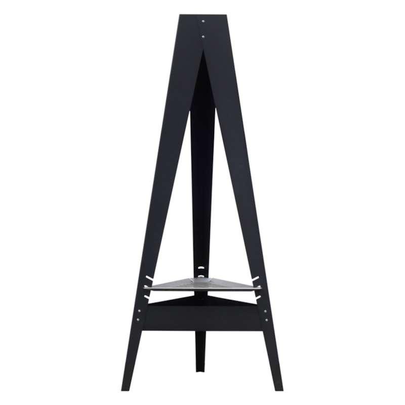 Hainser Feuerstelle und Grill Tripod lackierter Stahl 52x45x120,5 cm stabiler Dreibein-Grill