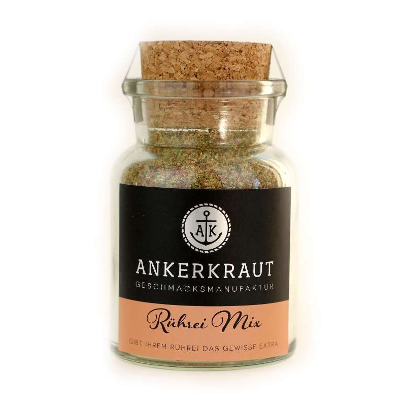 Ankerkraut Rührei Mix Gewürzmischung im Korkenglas 80 g Gewürzzubereitung