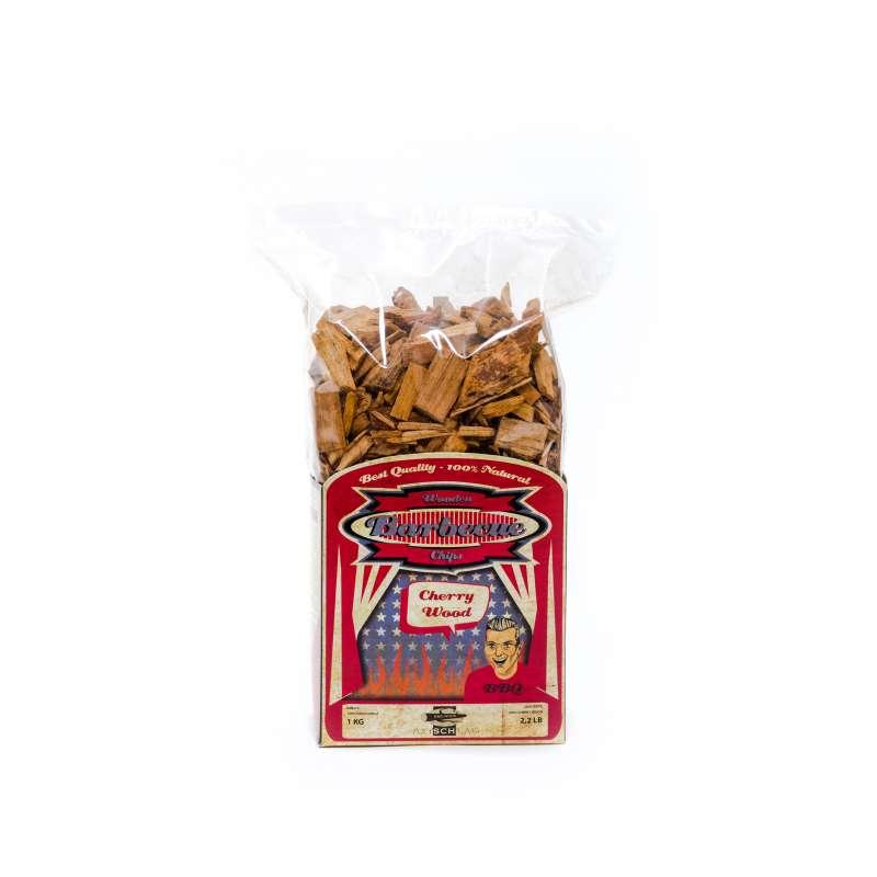 Axtschlag Wood Smoking Chips Kirsche Räucherholz Räucherchips 1kg 100G00M0000V