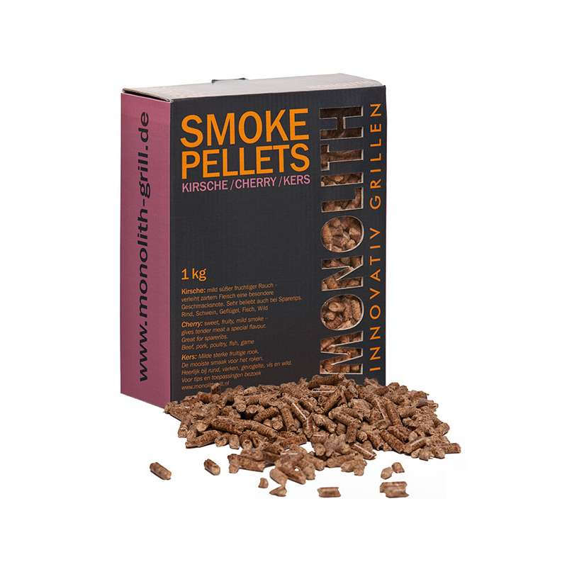 Monolith Smoke Pellets Grillpellets Räucherpellets Kirsche (Cherry) 1 kg 201101