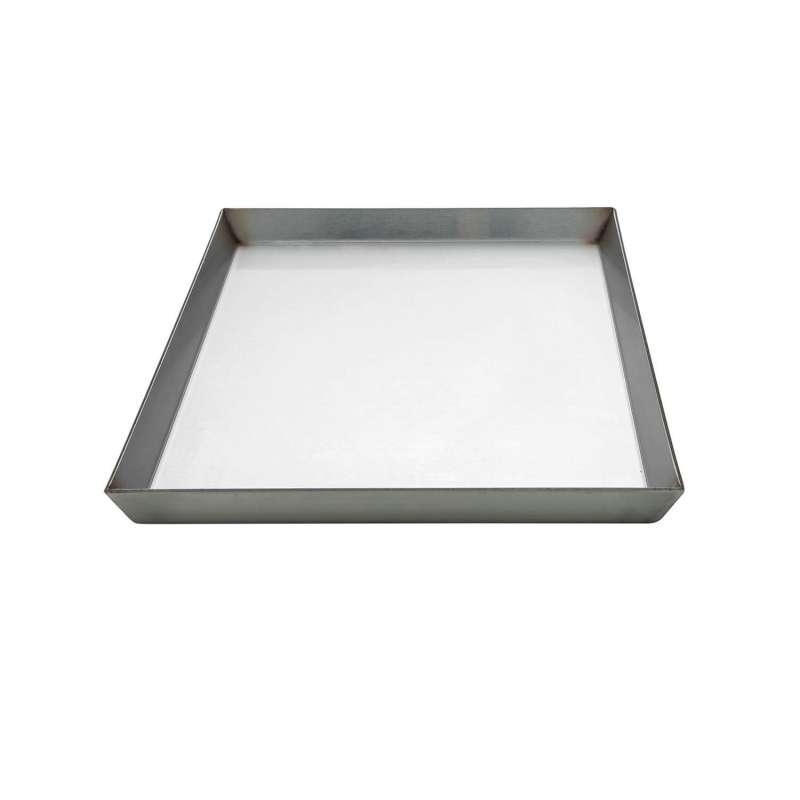 Allgrill Edelstahlgrillplatte für Gasgrill Chef L/XL, Ultra, Outdoorküche 35x46x2 cm Grillplatte