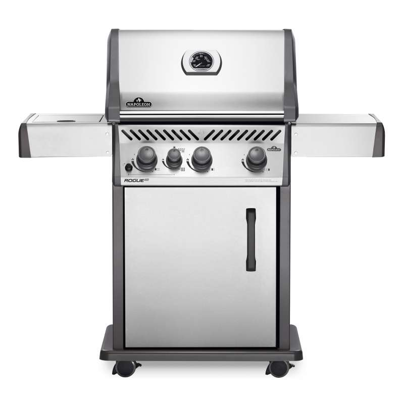 Napoleon Rogue XT 425 Edelstahl Gasgrill 17,25 kW 4 Brenner inkl. SIZZLE ZONE RXT425SIBPSS-1
