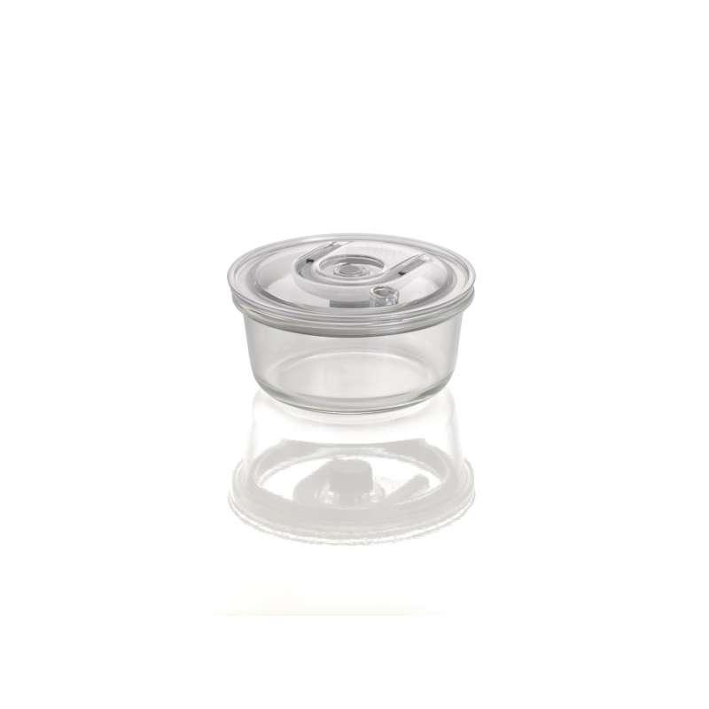 Caso VacuBoxx RM rund 620 ml Glas Design Vakuumbehälter mikrowellengeeignet spülmaschinenfest