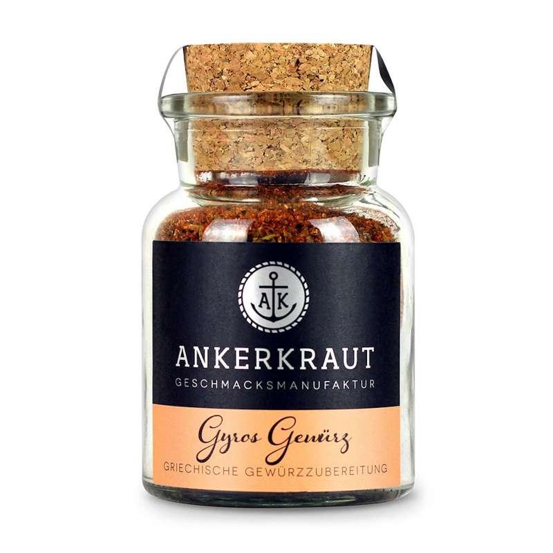 Ankerkraut Gyros Gewürz Korkenglas 80 g griechische Gewürzzubereitung