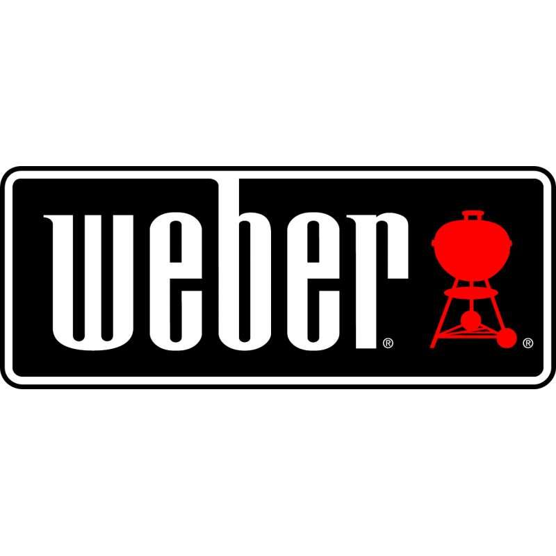 Weber Insert Caster Kit Halterungen für Lenkrollen für Genesis II Gasgrill-Modelle 2 Stück