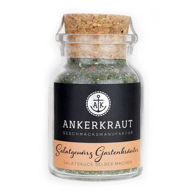 Ankerkraut Salatgewürz Gartenkräuter Gewürzmischung im Korkenglas 75 g