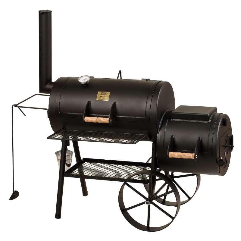 Rumo Barbeque JOEs Smoker 16 Zoll Classic mit Kochplatte JS 33751