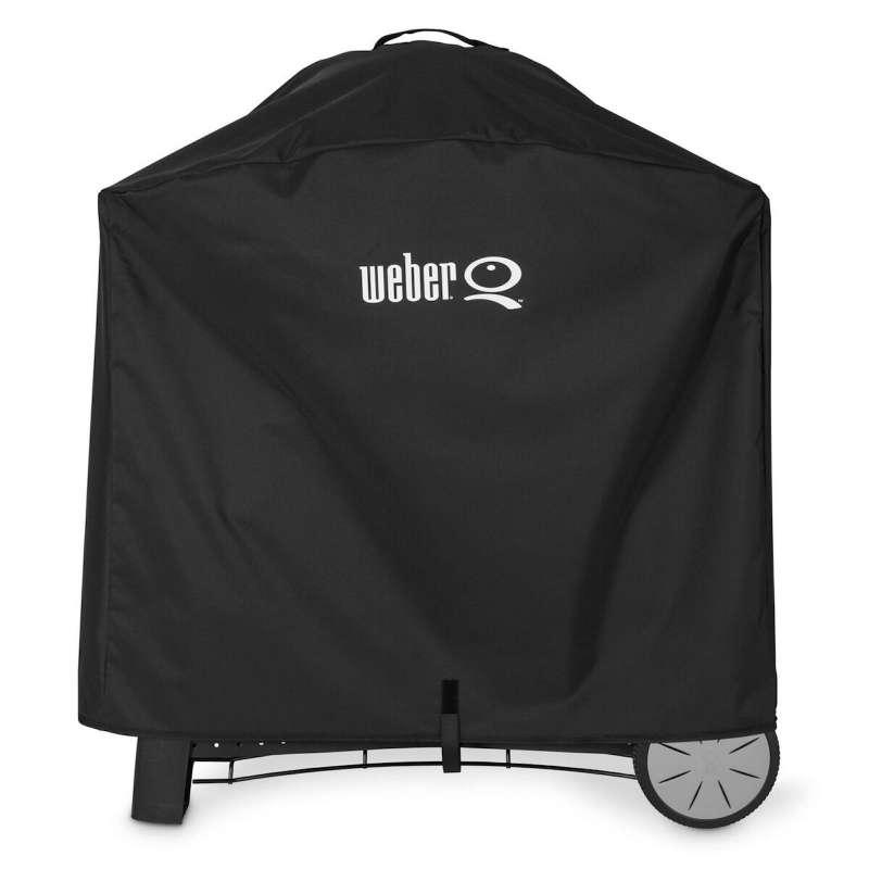 Weber Premium Abdeckhaube für Q 2000 und Q 3000 Serie mit Rollwagen