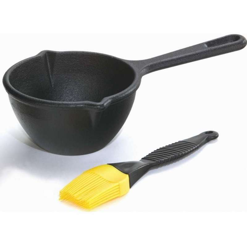 Rumo Barbeque Lodge Cast Iron Saucen-Kit inkl. Silikonpinsel