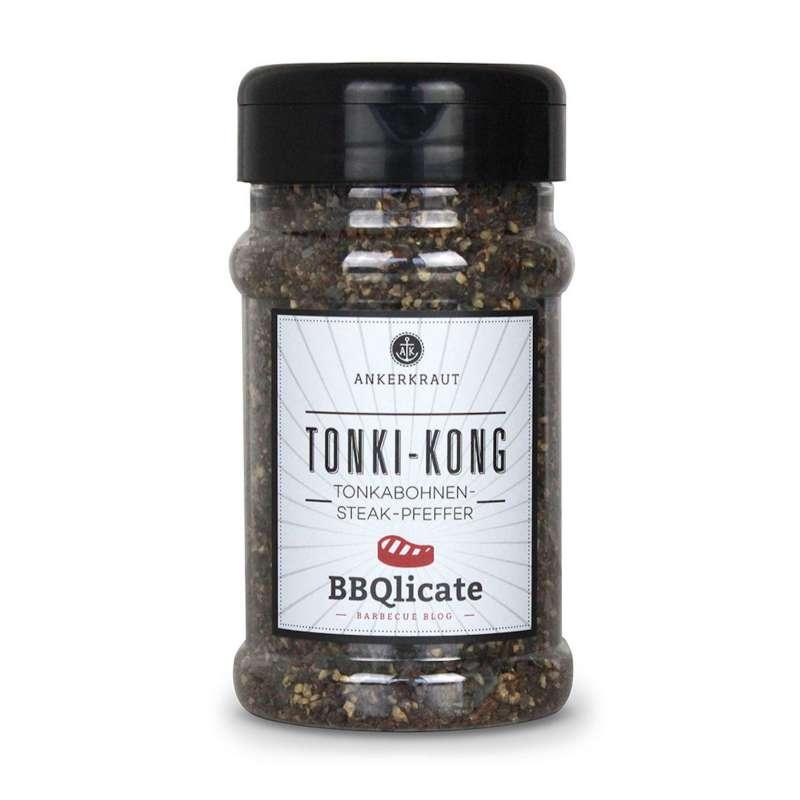 Ankerkraut Tonki-Kong BBQ Gewürzmischung im Streuer 200 g Gewürz Steak-Pfeffer