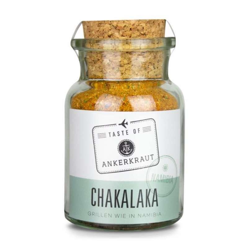 Ankerkraut Chakalaka (Namibia) Gewürzmischung für Afrikanische Gerichte im Korkenglas 75 g