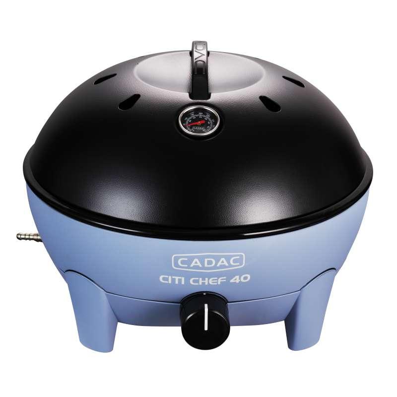 Cadac Citi Chef 40 Sky Blue, 50mbar Tragbarer Gasgrill 5610-20-15-DE