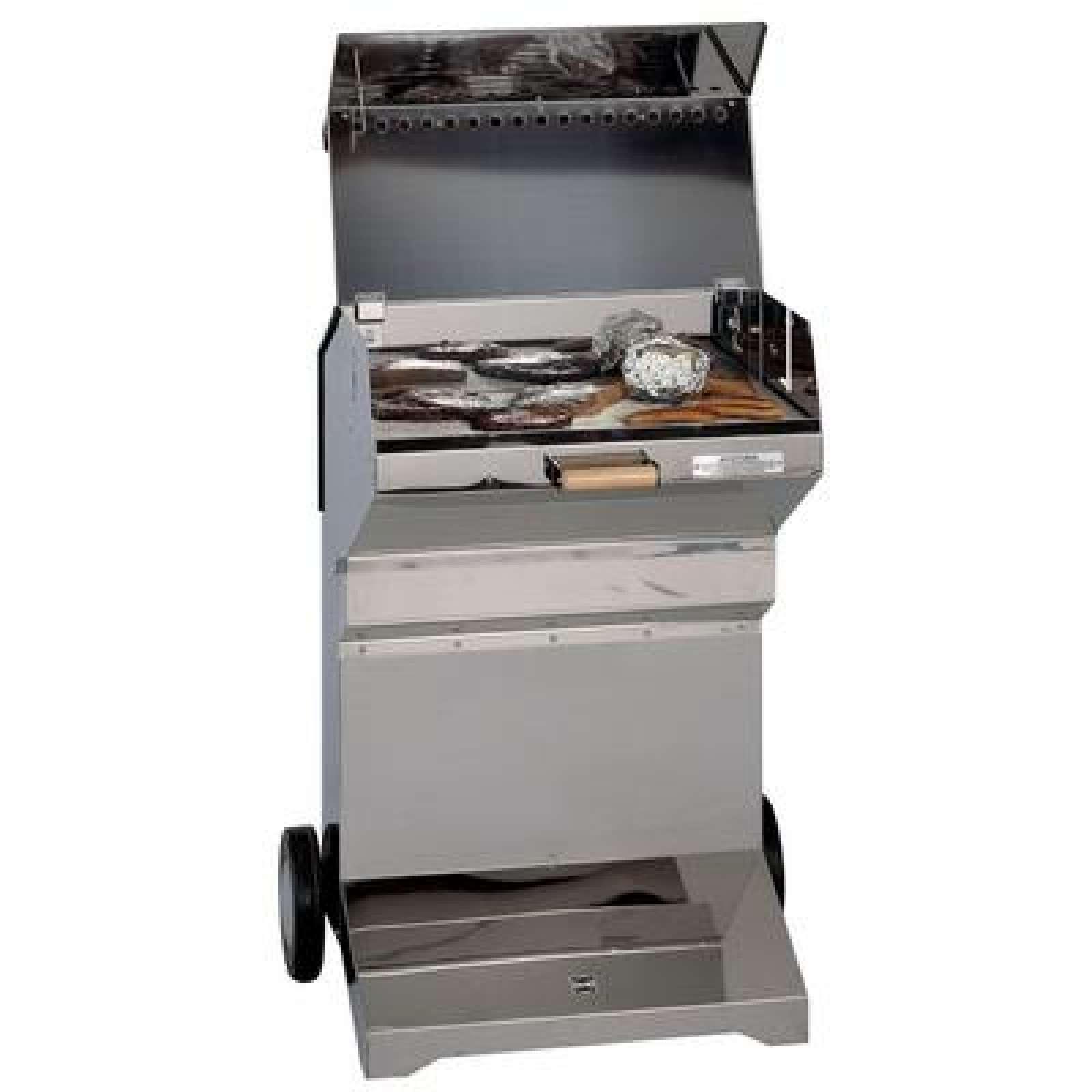 heibi edelstahl holzkohle grill 51195-072 | grillwelt24
