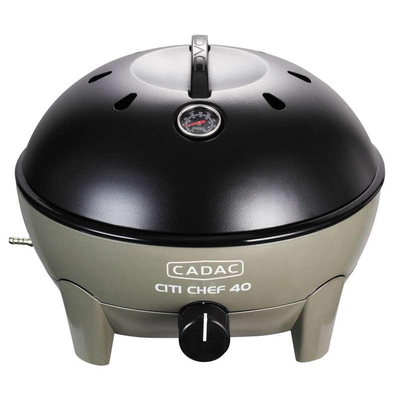 Cadac Citi Chef 40 Olive Green, 50mbar Tragbarer Gasgrill 5610-20-12-DE