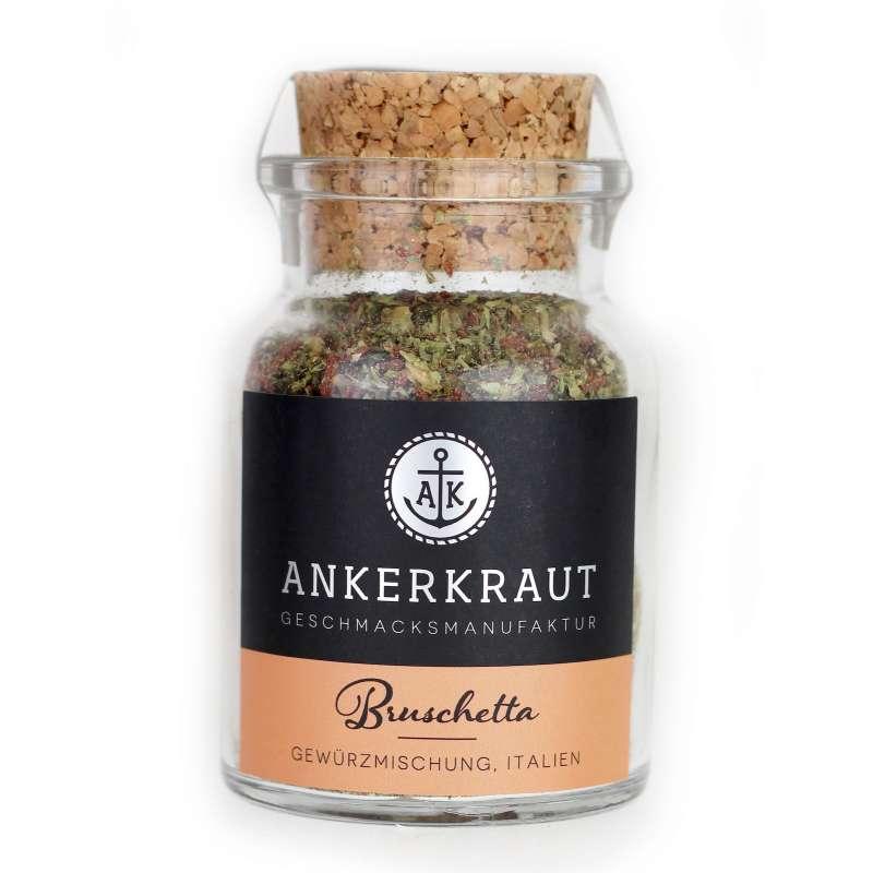Ankerkraut Bruschetta Gewürzmischung im Korkenglas 55 g Antipastigewürz