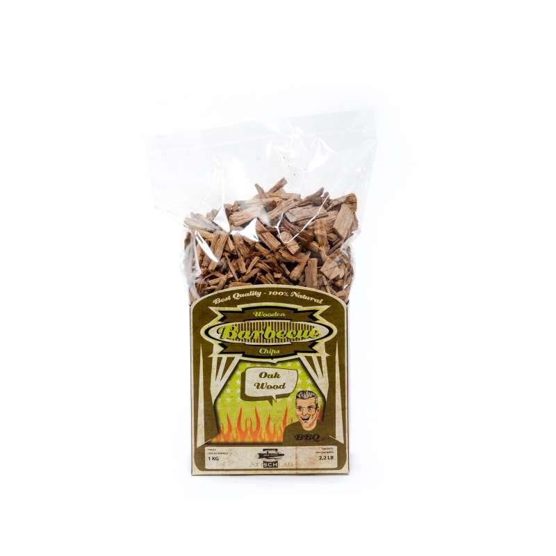 Axtschlag Wood Smoking Chips Eiche Räucherholz Räucherchips 1 kg 100G00M0500V