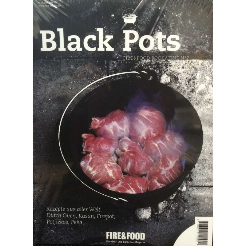 Rumo Barbeque Fire & Food Black Pots Bookazine No. 2 119 Seiten