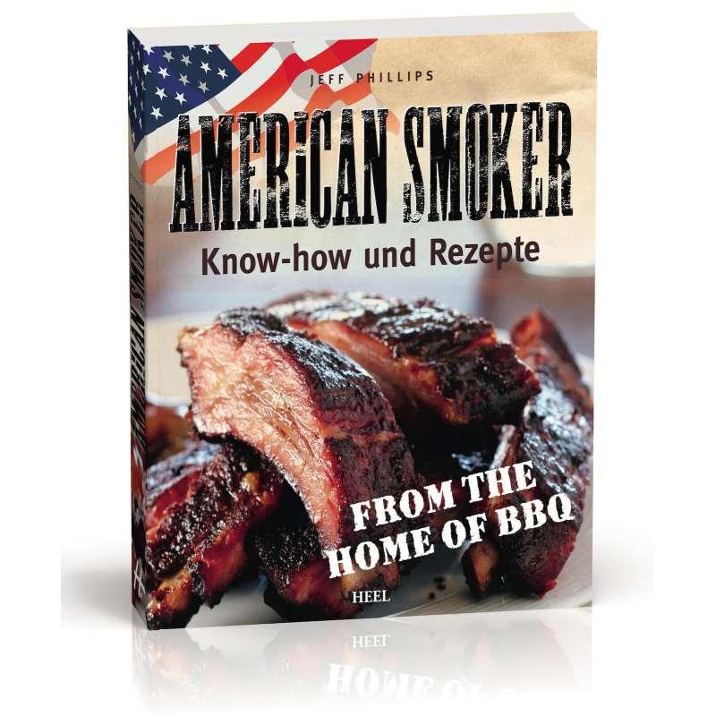 Rumo Barbeque American Smoker Buch Kochbuch Grillbuch Softcover 229 Seiten