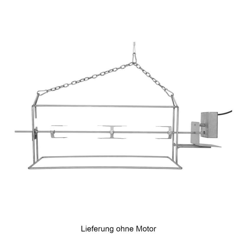 Schneider Rollbräter für Schwenkgrill 80 cm Drehspieß Schwenker