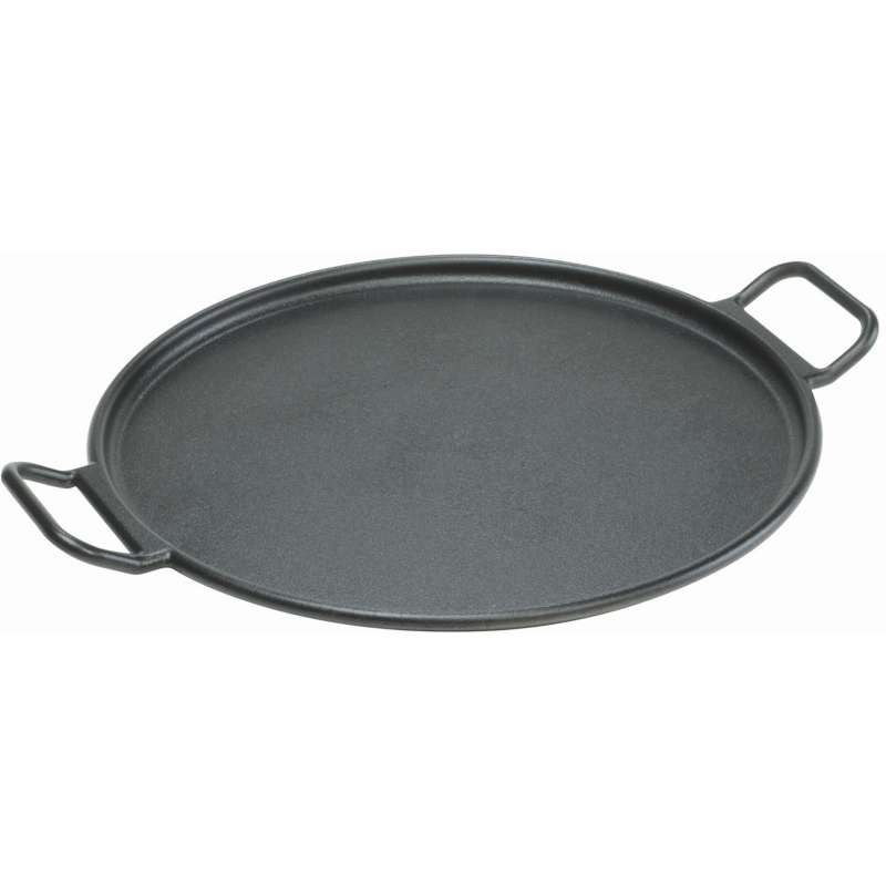 Rumo Barbeque Lodge Cast Iron gusseiserne Pizza- und Röstpfanne ø 36 cm