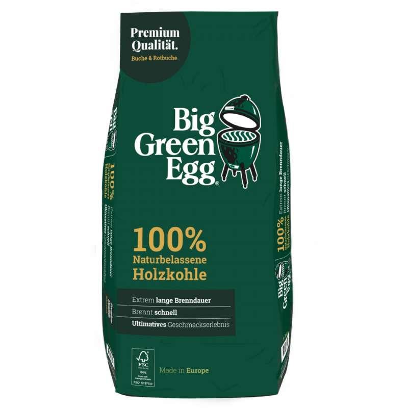 Big Green Egg 100% naturbelassene Premium Buchenholzkohle 9 kg 666304