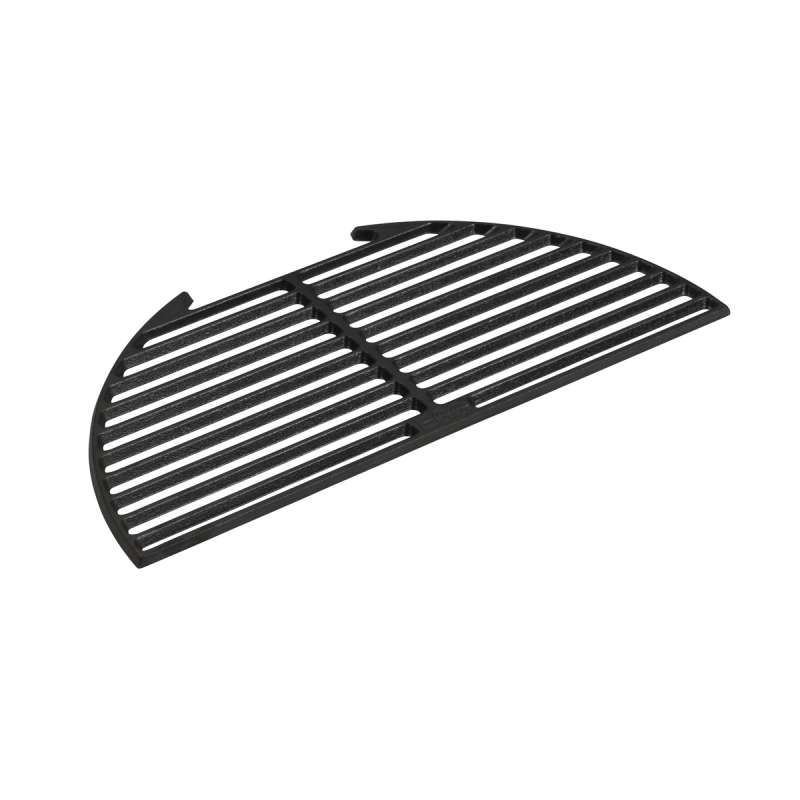 Big Green Egg Halbrunder Gusseisenrost Cast Iron Half Moon Grid L für Big Green EGG Large