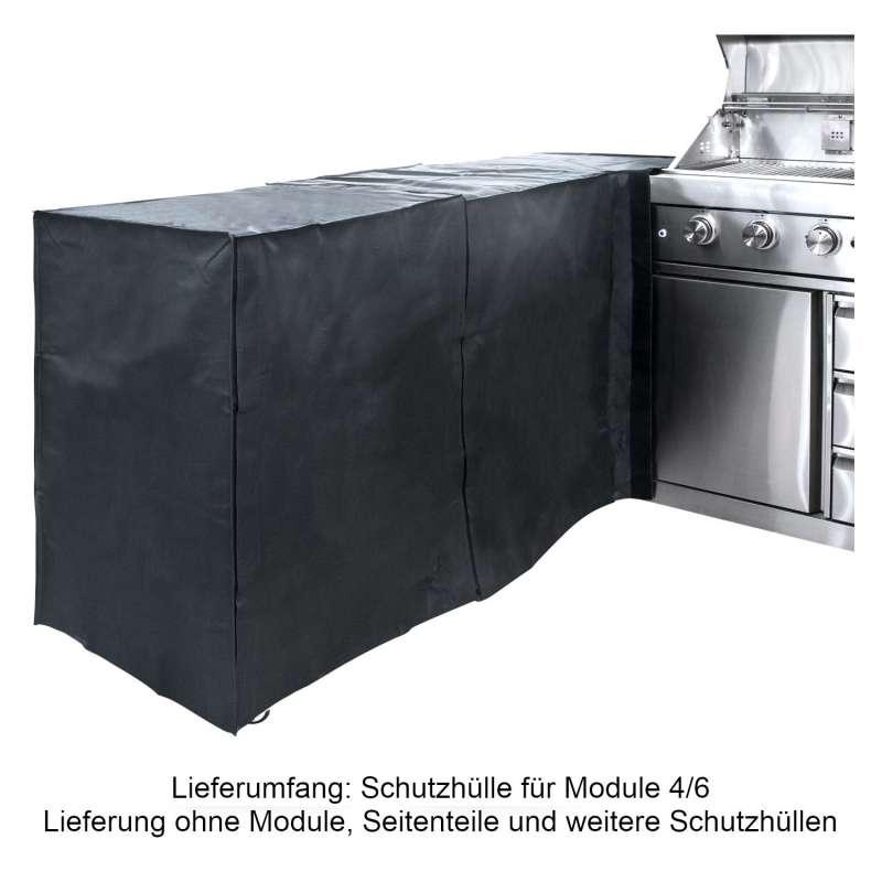 Allgrill 77850-96-3 modulare Abdeckhaube Schutzhülle für Modul 4/6 Outdoorküche
