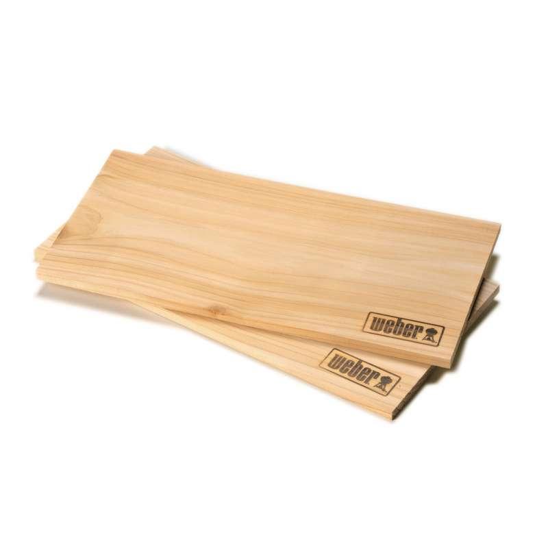Weber Räucherbretter Zedernholz groß 2 Stück