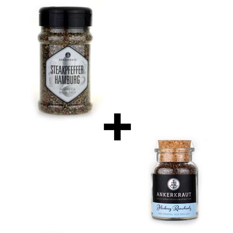 Ankerkraut 2er BBQ Gewürz-Set Pfeffer und Salz