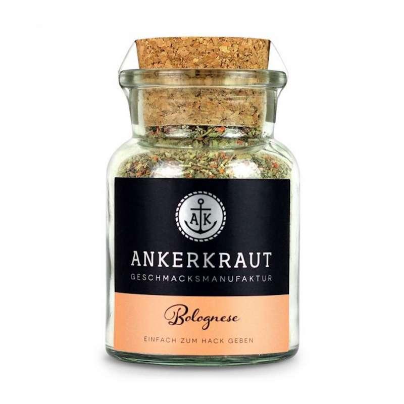 Ankerkraut Bolognese Gewürz Gewürzzubereitung Gewürzmischung Korkenglas 100 g