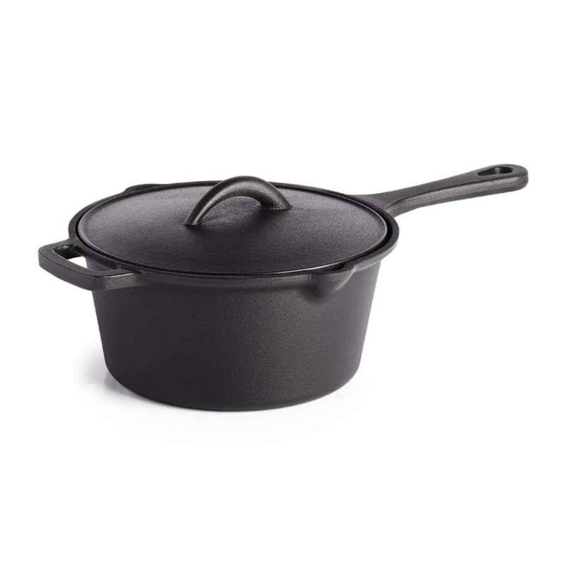 Napoleon Gusseisen Soßentopf mit Deckel Ø 18 cm / 2 Liter 56051
