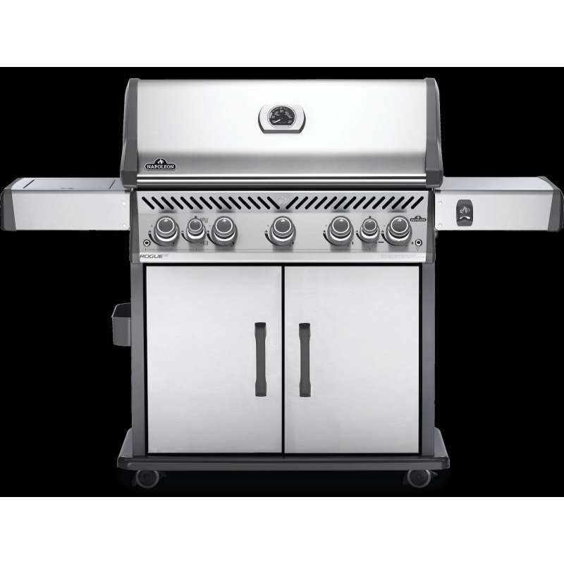 Napoleon Rogue SE 625 Edelstahl Gasgrill 30,25 kW 7 Brenner inkl. SIZZLE ZONE RSE625RSIBPSS-1
