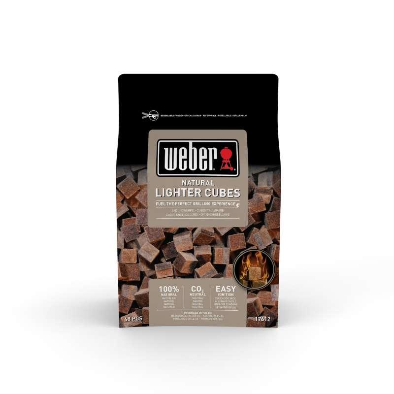 Weber Anzündwürfel braun ökologisch 48 Stück