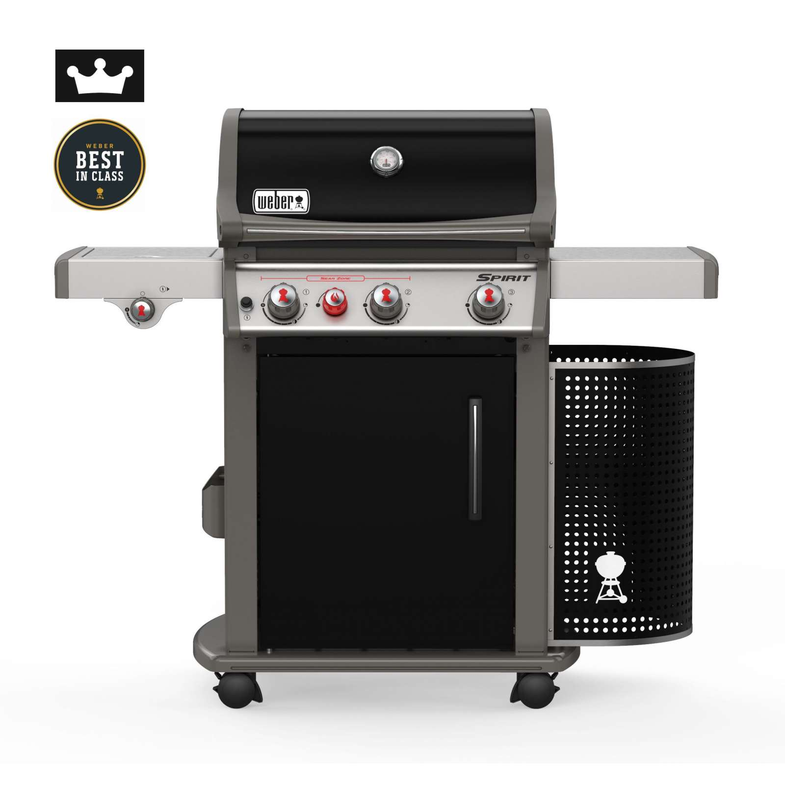 weber gasgrill spirit e 330 premium gbs mit premium abdeckhaube grillwelt24. Black Bedroom Furniture Sets. Home Design Ideas