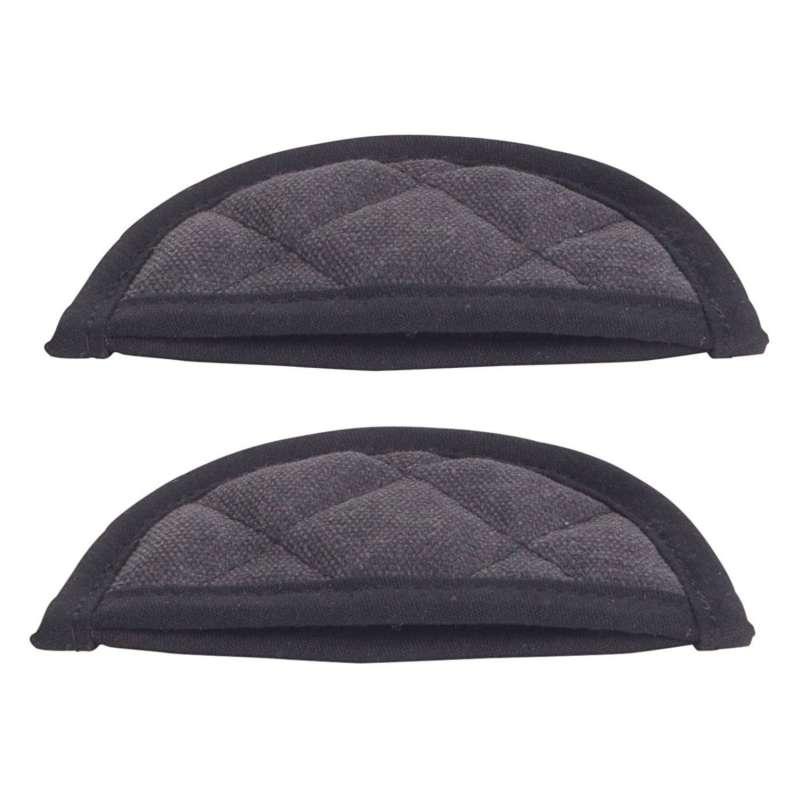 Gusseisenkuss® 2 Stück Hitzeschutz Griffschutz für Gusseisengeschirr mittel 13x6 cm