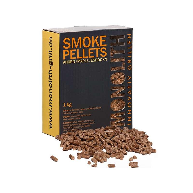 Monolith Smoke Pellets Grillpellets Räucherpellets Ahorn (Maple) 1 kg 201104