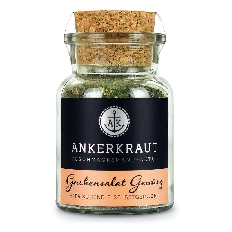Ankerkraut Gurkensalat Gewürz Gewürzzubereitung Gewürzmischung im Korkenglas 60 g