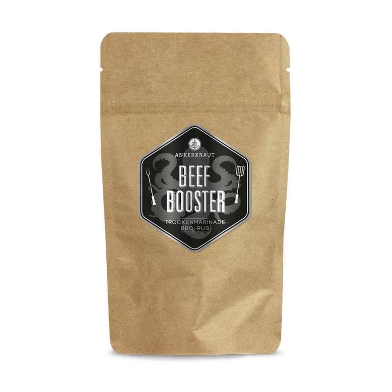 Ankerkraut Beef Booster BBQ Rub Gewürzmischung in der Tüte Nachfüllpack 250 g
