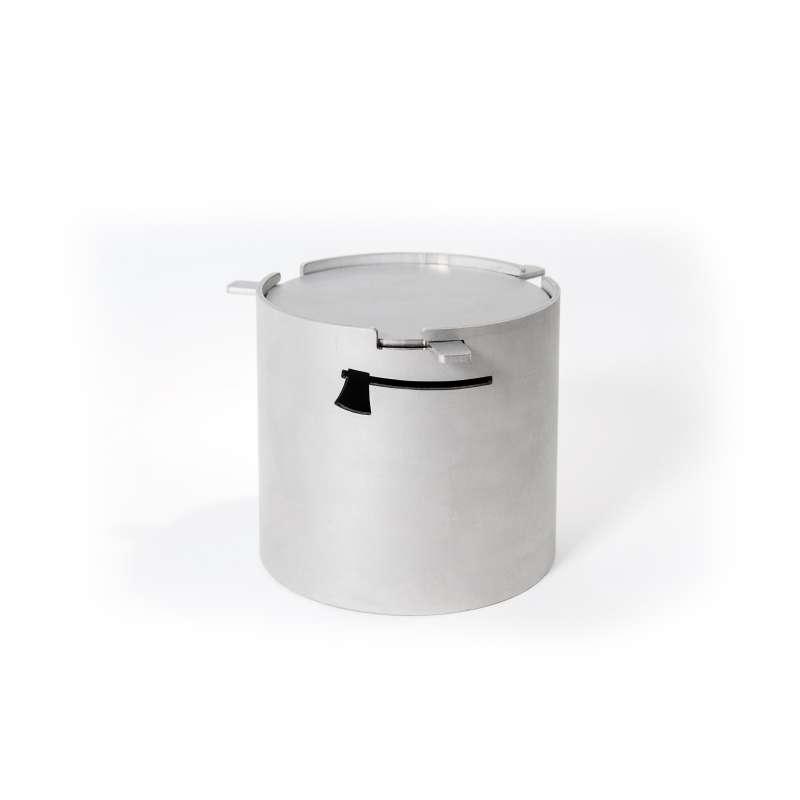 Axtschlag Smoker Cup Räucherbox Edelstahlbox 90 x 80 mm 100G10M1600V
