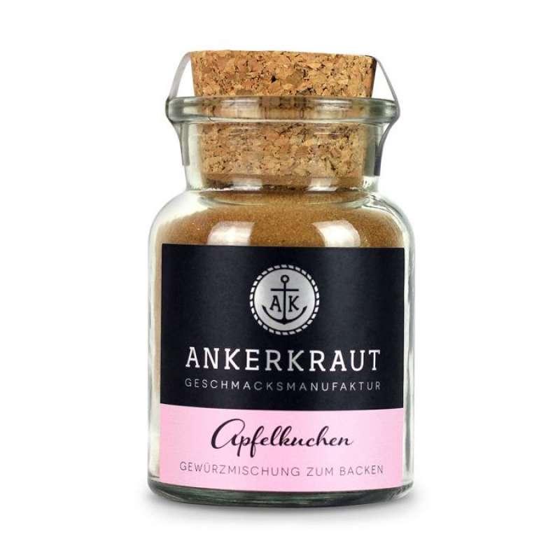Ankerkraut Apfelkuchen Gewürz Gewürzmischung Gewürzzubereitung im Korkenglas 65 g